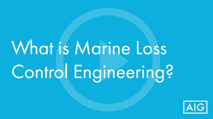 What is Marine Loss Control Engineering?